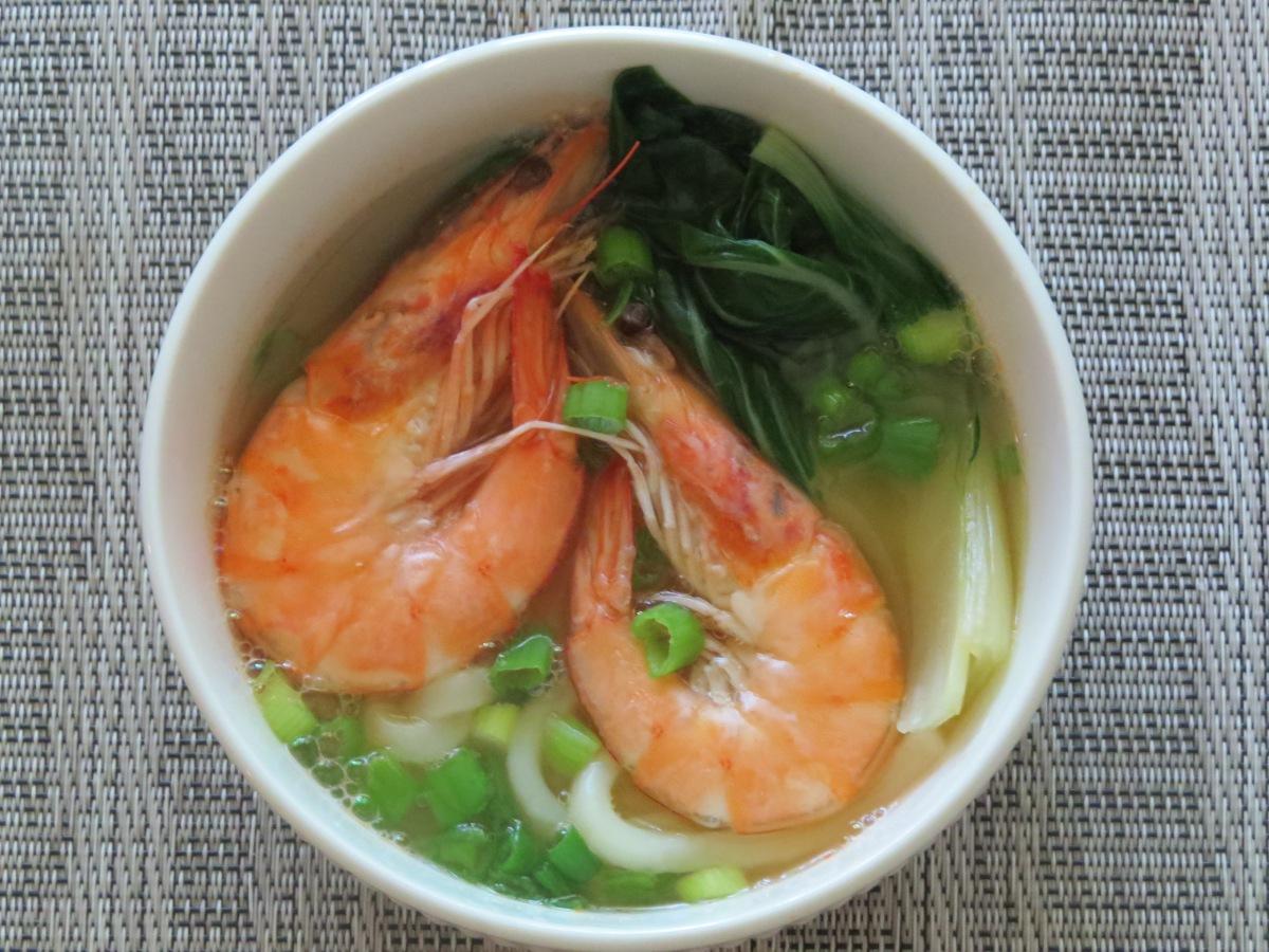Shrimp Udon NoodleSoup