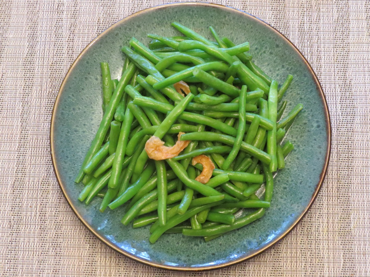 Green Beans with Dried Shrimp