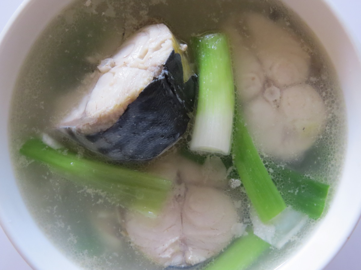 Spanish Mackerel Soup