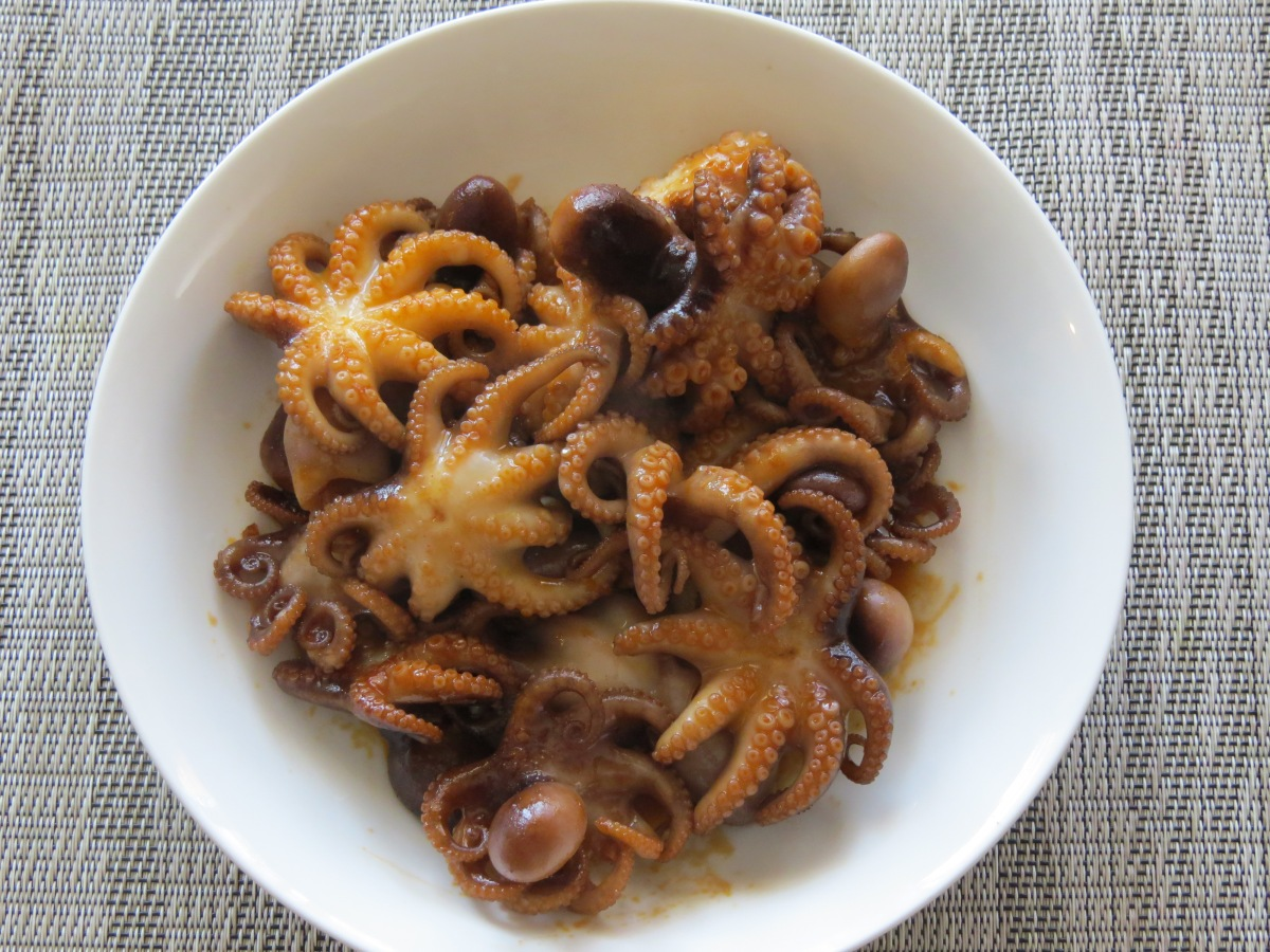 Spicy Baby Octopus