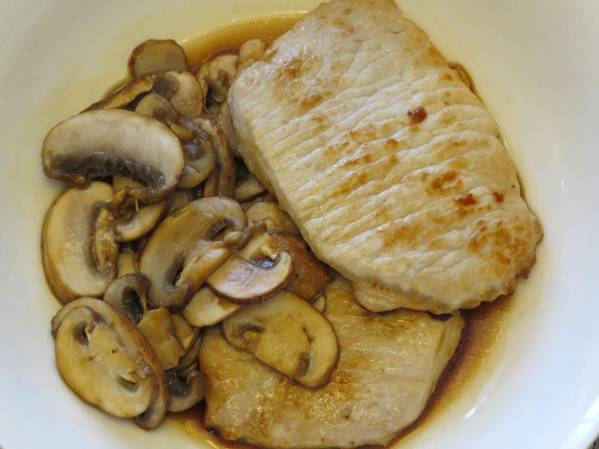 Pork and MushroomSauté