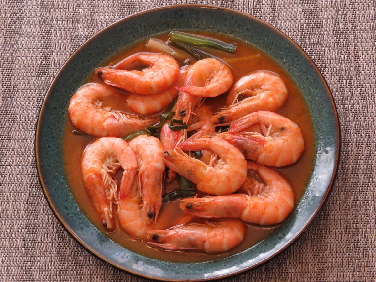 Shrimp in Vinegar